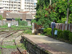 Railway Station: Vasco da Gama (joegoauk63) Tags: joegoauk goa vasco swr momugao peeing