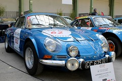 #62 Alpine Renault A110 1600 S 1970 (seb !!!) Tags: 2017 auto automobile automovel automovil automobil berlinette coupé coach fastback canon 1100d cars course sportive anciennes ancienne old oldtimers populaire paris seb france voiture wagen car tour optic 2000 grand palais française français french französisch frankreich francia frança francese francês francés race racing competition photo picture foto image bild imagen imagem bleu blau blue azul blu classique classic klassic chrome