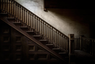 Staircase with Missing Spindle