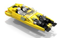 XJ-6 Airspeeder (LDD Building Instructions) by  O0ger (Repubrick.com) Tags: repubrickcom buildinginstructions lego ldd star wars episodeii attack clones anakin xj6 airspeeder speeder