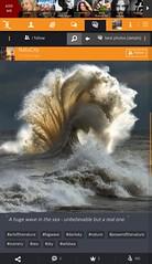 A huge wave in the sea - unbelievable but a real one. :: #bigwave #powerofthenature #wildsea #sea #darksky #sky #scenery #artofthenature #nature (xuniting1) Tags: scenery nature powerofthenature artofthenature wildsea bigwave sea sky darksky