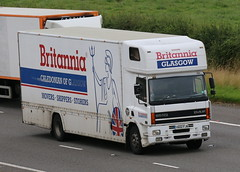 Y602FJN - Britannia Glasgow (TT TRUCK PHOTOS) Tags: a74m tt lockerbie daf brittania removals