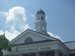 Top Side View, Allen County Judicial Center, August 1,2016 (rustyrust1996) Tags: allencounty scottsville kentucky judicialcenter courthouse
