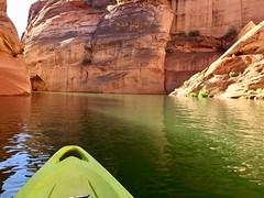 Kayaking Lake Powell into Antelope Canyon (NettyA) Tags: usa travel appleiphone6 kayaking lakepowell antelopecanyon hiddencanyonkayak page arizona