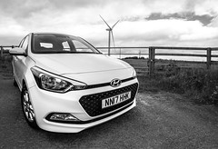 Hyundai 1.2SE i20 2017. (CWhatPhotos) Tags: cwhatphotos olympus omd em5 mkii mk ii four thirds view digital camera photographs photograph pics pictures pic picture image images foto fotos photography artistic that have which with contain artistc art light auto automobile car white hyundai i20 hyundaii20 12se 12 se vehicle 2017 new bran wind turbine turbines renewable energy farm countryside flickr