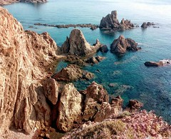 El equilibrio es imposible cuando vienes y me hablas de nosotros dos (paulisuki) Tags: beach photography coast rocks níjar almería spain landscape