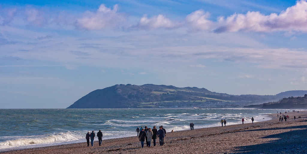 KILLINEY BEACH AND VIEWS FROM THE BEACH [THE DAY BEFORE ST. PATRICKS DAY 2008]-129533