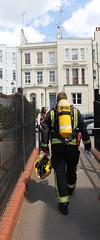 Firefighter - Grenfell tower (ian_fromblighty) Tags: grenfelltower london uk fire tower londonfire kensingtonandchelsea
