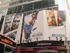 Valerian and the City of a Thousand Planets Billboard Poster 7237 (Brechtbug) Tags: valerian city thousand planets billboard poster times square nyc 2017 french science fiction comics series from 1967 valérian laureline written by pierre christin illustrated jeanclaude mézières film movie directed luc besson new york 06182017