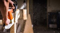 Chainsaw (brandpirate.onlinemarketing) Tags: chainsaw kettensäge carpenter schreiner stihl wood holz tree werkzeug baum brandpirate