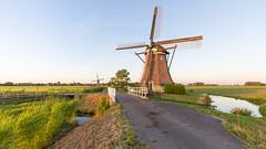 Sunset in the Molenwaard (2) (Wim Boon (wimzilver)) Tags: wimboon wimzilver canoneos5dmarkiii canonef1635mmf4lisusm wideangle molen molenwaard canon sunset alblasserwaard streefkerk nederland netherlands