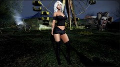 A cloudy day in the dark park. (Helen Beverly) Tags: truth catwa maitreya beverly store bs reign real evil realevil re blueberry