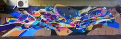 Fusion Bandi Tacos (HBA_JIJO) Tags: streetart urban graffiti vitry vitrysurseine art france hbajijo wall mur painting letters peinture lettrage lettres lettring writer murale paris94 spray panorama mural bandi bombing urbain abstract tacos postgraffiti