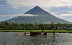 Mayon Volcano (Arnel S. Bautista) Tags: volcano albay raft river tourist lake sumlang philippines teampilipinas