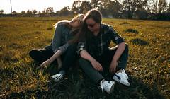 FR (aleksandra.dylkova) Tags: girl green glasses sigarette portreits friends report tree street summer spring smoke garden nature model modeling test whiteblack