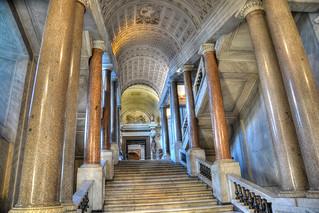 Scala per il museo egizio