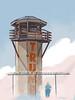 The Last Trump Tower (The Searcher) Tags: derek chatwood poprelics art illustration sketch drawing ink watercolor politics political satire cartoon donald trump president treason russia russian collusion espionage impeach impeachment fraud moneylaundering bribery stupidity ego trumptower