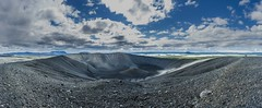 Mt.Hverfjall (Einar Schioth) Tags: mthverfjall myvatnssveit myvatn crater water sky summer sunshine sun day canon clouds cloud vividstriking nationalgeographic ngc nature mountain mountains landscape lake photo picture outdoor iceland ísland einarschioth panorama