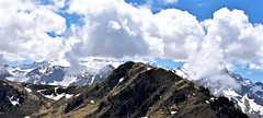 Tuc d'Arres (2.163 m) (Xevi V) Tags: cúmulus view landscape paisatge muntanyes mountains clouds núvols pirineus pirineos pyrenees pyrénées occitània isiplou valldaran valdaran aran arres tucdarres