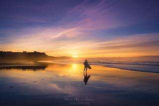 Surfista en Sope