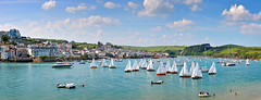 Salcombe Yacht Race (jamiegaquinn) Tags: yacht race yachtrace salcombe sunny ria devon estuary panorama eastportlemouth yawls boat boats iplymouth