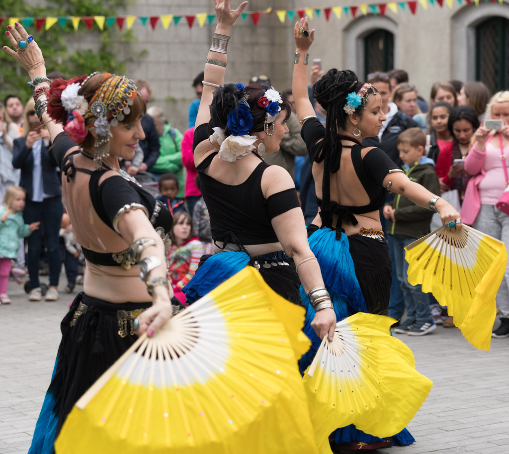The Zoryanna Dance Troupe Tribal Belly Dancing [Africa Day 2017 Dublin]-129056