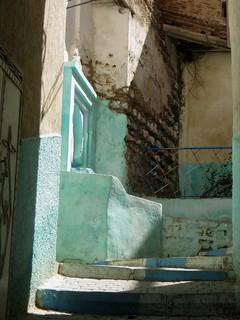 Couleurs des rues, Moulay Idriss Zerhoun, province de Meknès, Maroc.