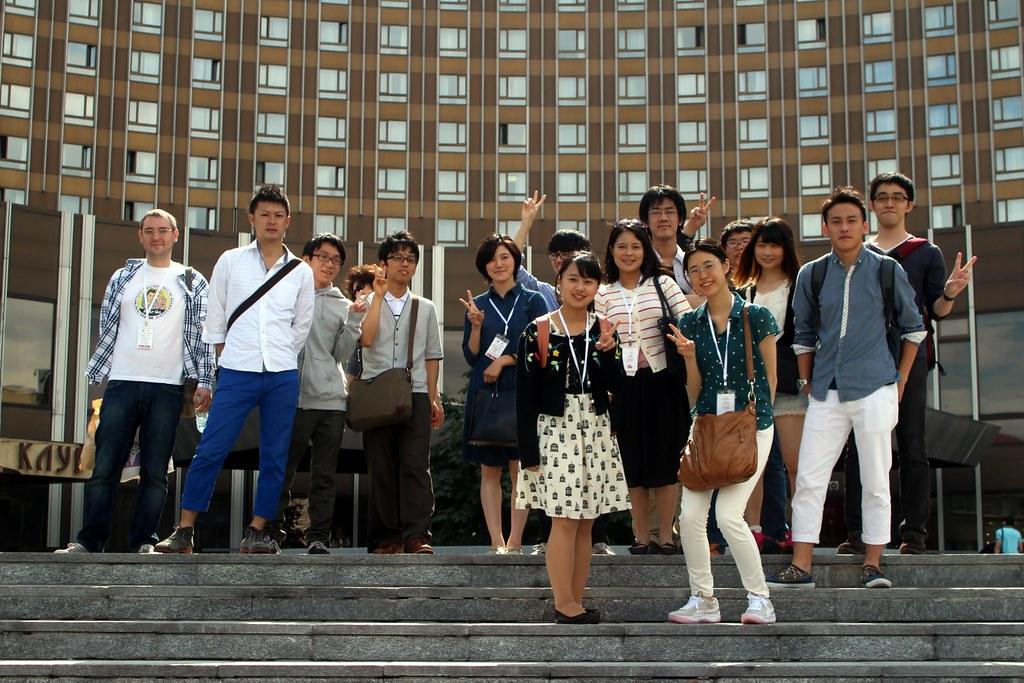 Японцы в России (лето 2015)