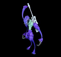 Uslaw Haern the Sharpshooter (Rеdverse) Tags: alien insect action figure lego bionicle hero factory villain assassin sniper killer rifle afol