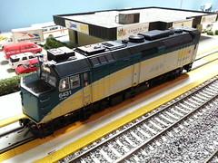New F40PH-2D (Trains By Perry) Tags: hoscale ho hotrak may2017 via viarailcanada f40ph2d rebuild