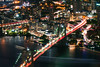 NYC at Night (SpiderZhou) Tags: nyc oneworldobservatory city night brooklyn bridge 纽约 世贸 城市 夜景 布鲁克林桥
