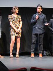 "SXSW 2017 Premiere: ""Gemini"" - Lola Kirke & John Cho (escriteur) Tags: img7611 texas austin sxsw 2017 film movie premiere worldpremiere stateside theater theatre gemini lolakirke johncho"