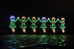 25 Irish Dancers (megatti) Tags: buckscounty christmas christmaslights dancers pa pennsylvania shadybrookfarm yardley