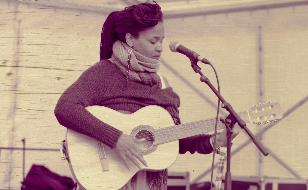 Ines Khai Performing At Africa Day In Dublin [ The Artist Is From Anse Bertrand, Guadeloupe]-128582