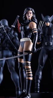 X-Force Psylocke | Statue | Bowen Designs