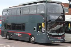 National Express West Midlands Alexander Dennis Enviro400 MMC 6707 (YX15 OYB) (john-s-91) Tags: nationalexpresswestmidlands alexanderdennisenviro400mmc 6707 yx15oyb chelmsleywood routex12