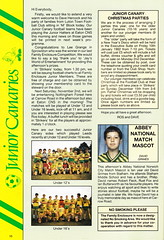 Norwich City vs Luton Town - 1991 - Page 10 (The Sky Strikers) Tags: norwich city luton town barclays league division one carrow road official matchday programme pound twenty