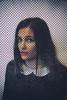 Cartoon (Marta Marcato) Tags: portrait portraiture girl woman black white pois hair cartoon draw face ritratto ragazza donna nero bianco disegno capelli faccia nikond7200 selfportrait autoritratto
