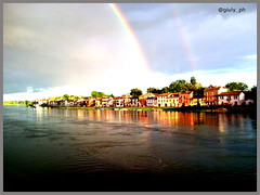 arcobaleno (Il_Pazzo_77) Tags: pavia pontecopertopavia pontecoperto arcobaleno fiume fiumeazzurro ticino borgo borgoticino burgabass