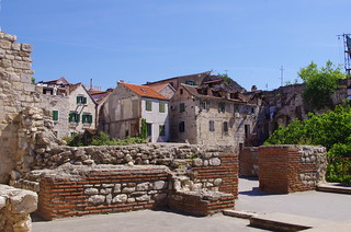 88 - Split, Croatie, Mai 2017 - dans la vieille ville