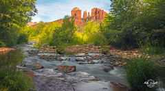 Red Rock  River Crossing (Mike Verrill) Tags: cathedralrock sedona arizona oakcreek redrock river rivercrossing stream d7200 nikon