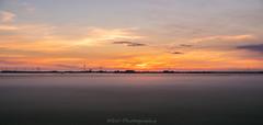 Foggy Sunrise / Mistige Zonsopkomst (Stef32Photo) Tags: foggy mistig sunrise zonsopkomst landscape landschap green groen sun zon daylight daytime daglicht overdag nikon d5300 sigma18200mm sigma schagen noordholland northholland clouds