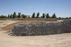 Bricks for sewage treatment system (Jiyan Foundation) Tags: jiyan foundation humanrights chamchamal iraq irak garden therapy psychotherapy rehabilitation sewage abwasser wasseraufbereitung recycling dewats borda healinggarden kurdistan