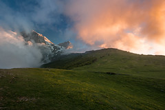 Painted by the Sun (luigig75) Tags: gran sasso parconazionaledelgransassoemontidellalaga sunset tramonto mountains montagne clouds spring abruzzo italia italy landscape canonefs1022mmf3545usm canon 70d
