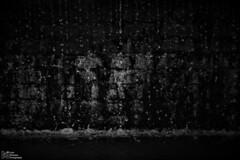 Water drops (Luke Hermans Photography) Tags: water drops drop freeze black white druppel druppels zwart wit zwartwit monochrome dark
