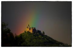 Rainbow # Burg Hohenzollern (birgitzehnder) Tags: regenbogen burghohenzollern
