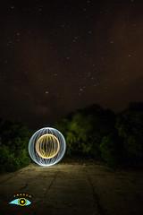 Estoy dentro (Fran Ramos.) Tags: esferas estrellas naturaleza nocturnas noche nubes negro frascoramos franramos fria calida light painting cartagena calblanque fuji xt1