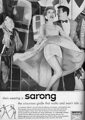 Sarong 1956 (barbiescanner) Tags: vintage retro fashion vintagefashion 50s 50sfashion girdles sarong