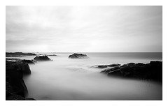 misty waters (photography by Ross Spirou) Tags: blackandwhitephotography bwnd110 longexposure