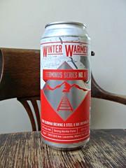 Winter Warmer (knightbefore_99) Tags: beer cerveza pivo winter warmer strong ale can collaboration dark malt hops craft terminus series canadian blindman steelandoak art